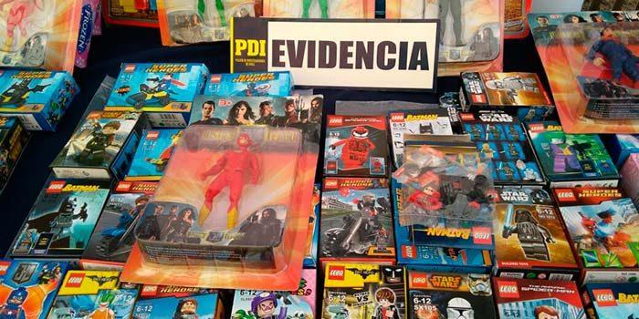 PDI incauta juguetes falsificados en feria navideña de Rancagua