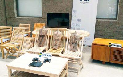 PDI logra recuperar finos muebles en Rancagua