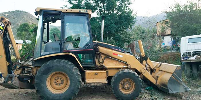 PDI recupera retroexcavadora en Alhué