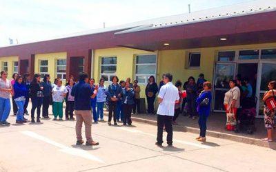 Primer simulacro de emergencia en nuevo Hospital de Chimbarongo