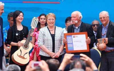 Reconocen a los nuevos tesoros humanos vivos de Chile