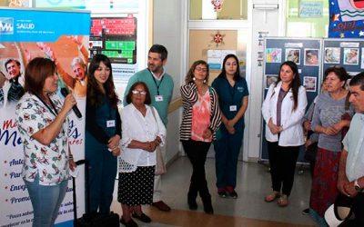 Salud Machalí inaugura muestra fotográfica Vive la vida y olvida tu edad
