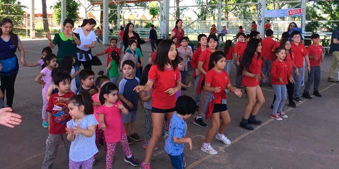 Salud Machalí realizó jornada de actividad física Muévete por tu vida