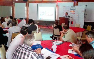 Se definen acciones para el Plan Regional de Seguridad Pública en la región