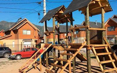 Vecinos de Machalí autoconstruyen plaza saludable