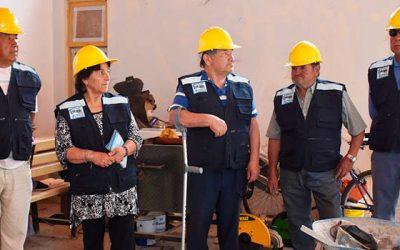 Vecinos de Santa Filomena están felices con avance de ampliación de su sede social