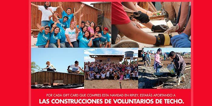 Voluntarios de la región se movilizan para realizar construcciones en campamentos