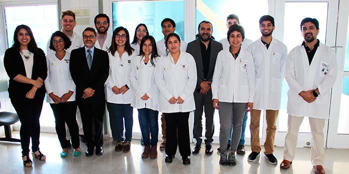 14 nuevos internos de medicina de la U de Talca se incorporan al Hospital de Santa Cruz