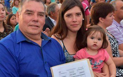 390 familias de Machalí reciben las escrituras de sus viviendas