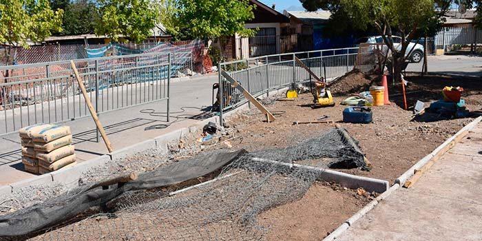 70% de avance tienen obras de mejoramiento de sede social de Santa Filomena