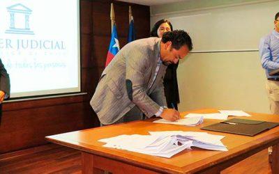 Corte de Apelaciones de Rancagua firma acuerdo de buenas prácticas y derechos humanos con sector justicia y salud