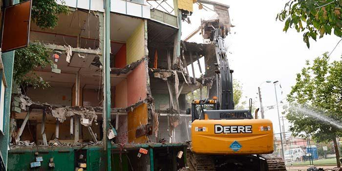 Demolición de Villa Cordillera causa satisfacción entre vecinos del sector