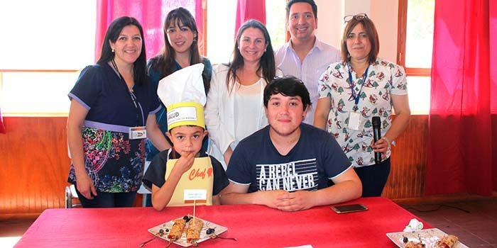 En Machalí finalizó con éxito el concurso Recetas escolares para una alimentación saludable