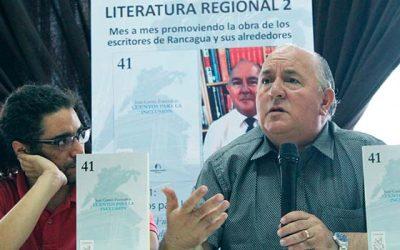 Escritor rancagüino publica su tercer libro motivado en la inclusión