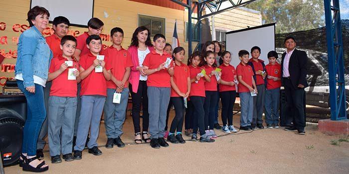 Escuela Matancilla de Litueche finaliza exitoso proyecto FPA de reciclaje 2017