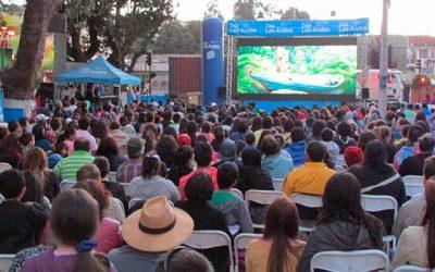 Gira de Cine Móvil de Caja Los Andes visita Machalí