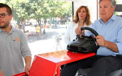 Gran interés despertó visita de innovador Centro de Seguridad Vial a Rancagua