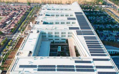 Inaugurada planta fotovoltaica de Hospital Regional de Rancagua
