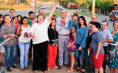 Inauguran una nueva área verde en sector oriente de Rancagua