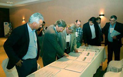 Intendente participa en reunión donde se aprobaron estudios del Paso Las Leñas