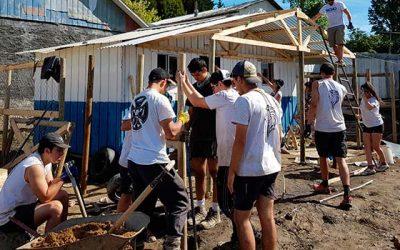 Jóvenes de la Sexta Región parten a Viña del Mar a construir durante los Trabajos de Verano 2018