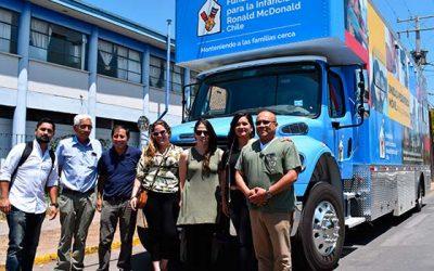 Moderna unidad pediátrica móvil inciará operaciones en San Fernando