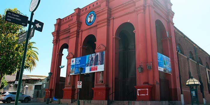MOP OHiggins ejecuta restauración de iglesia san francisco de asís en Rancagua