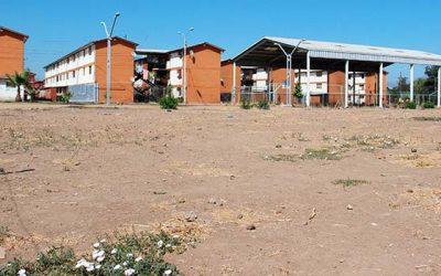 Nueva área verde brindará mayor seguridad a vecinos de población Baltazar Castro