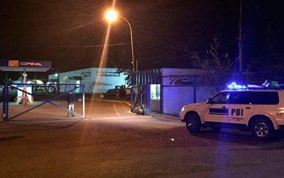 PDI investiga homicidio de guardia en San Fernando