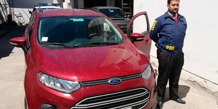 PDI recupera vehículo con encargo por robo en San Fernando