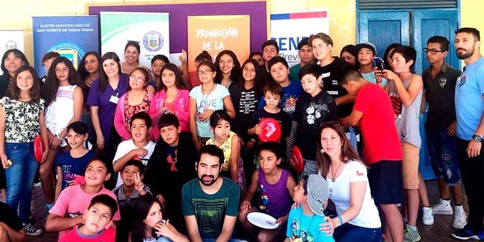 Senda San Vicente inicia actividades preventivas en escuela de verano