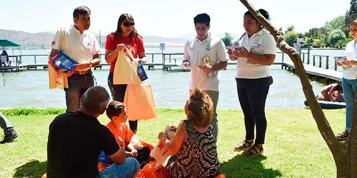 Autoridades visitan Lago Rapel para entregar recomendaciones sobre turismo consciente