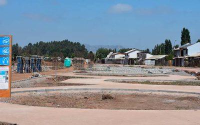 Avanza mejoramiento de áreas verdes y avenida Los Estanques en Santa Cruz