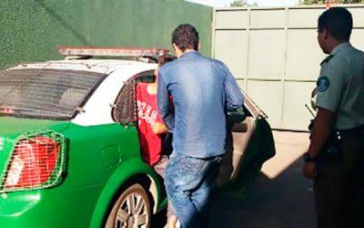 Carabineros detiene a sujetos que ingresaron a local de comida rápida a robar