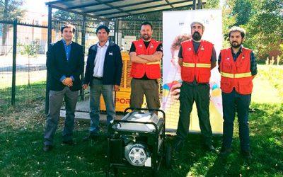 CGE entrega generadores a la Conaf OHiggins para apoyar gestión en emergencias