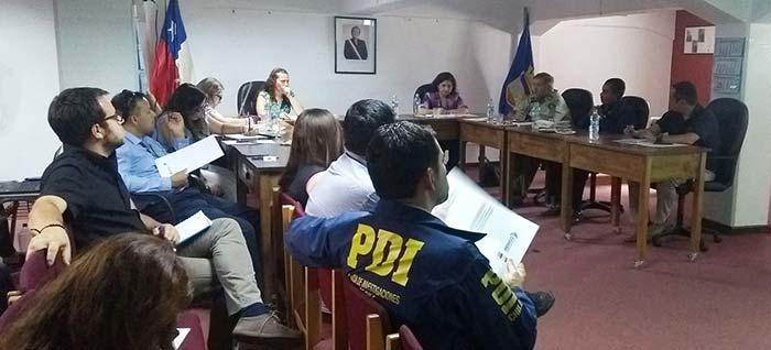 Consejo comunal de seguridad pública de Rengo trabaja plan comunal de seguridad