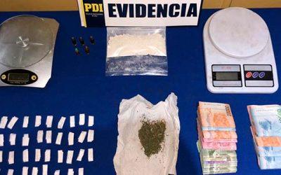 pdi Detienen a mujer con delivery de drogas en Rancagua