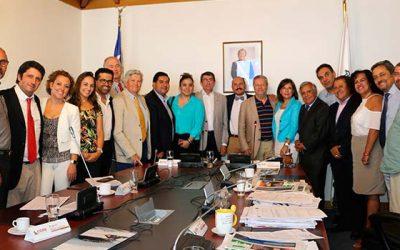 Directiva de la Ancore visita Consejo Regional de OHiggins