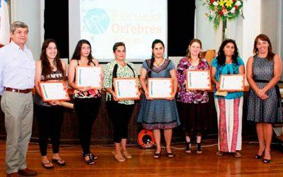 Escuela de Orfebres de Coya entrega una nueva generación de artistas en cobre