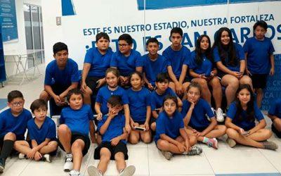 Escuela Municipal de Fútbol de Chancón visita al Club Universidad Católica