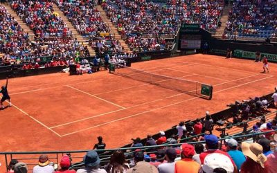 Escuela Municipal de Tenis Rancagua disfruta de la Copa Davis