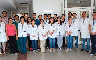 Hospital Santa Cruz realiza alianza estratégica con centros de formación profesional y técnica