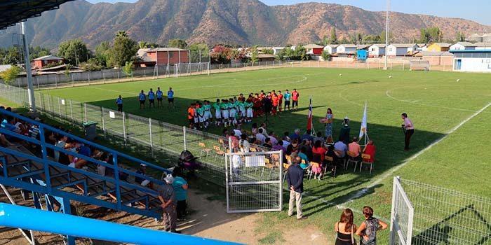 Inaugurado moderno estadio en Lo Miranda