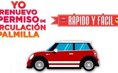 Llaman a renovar permiso de circulación 2018 en Palmilla