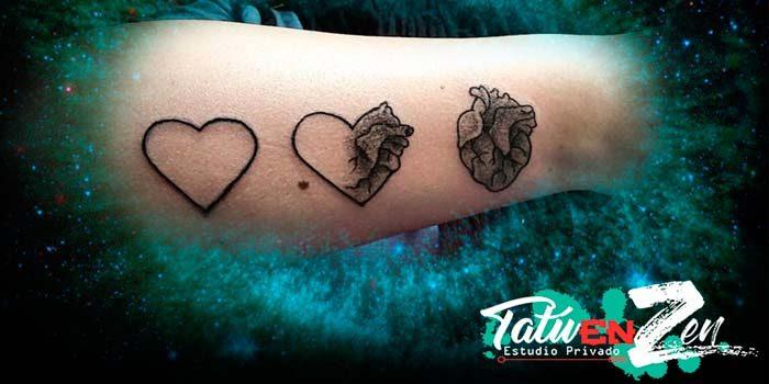 Los tatuajes para el día del amor
