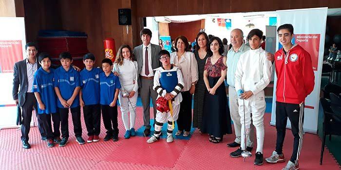 Ministro del Deporte visita Rancagua con grandes noticias para los deportistas del alto rendimiento local