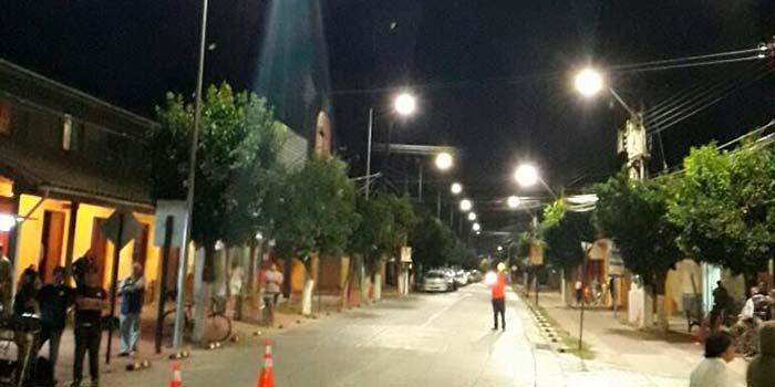 Nuevas luminarias públicas con tecnología LED para Nancagua