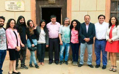 Presidente del CNTV visita nuevo canal concesionado de TV Digital en Pichilemu