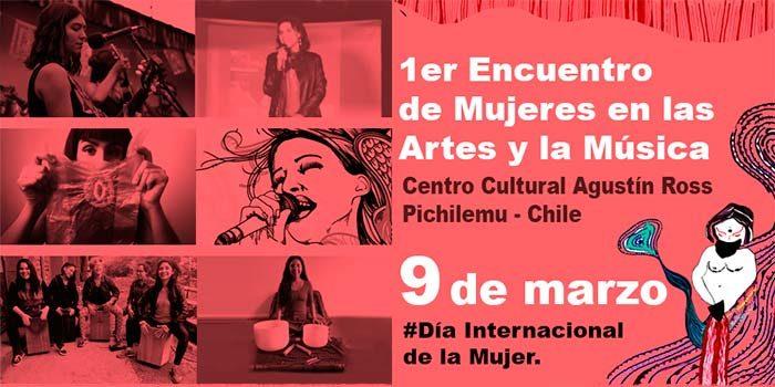 Primer encuentro de mujeres en las artes y la música en Pichilemu