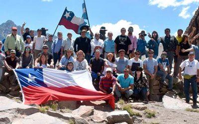 Primera travesía San Fernando-Malargue une Chile y Argentina por paso Las Damas